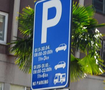 Parkverbot für Wohnmobile in Kroatien