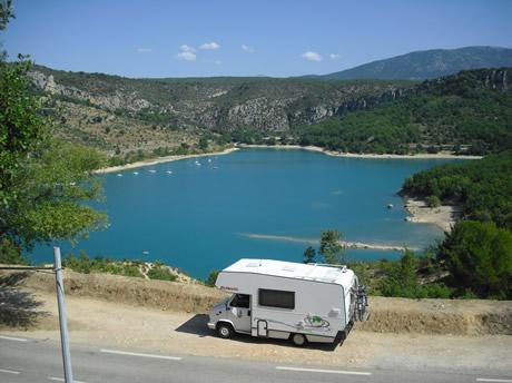 Mit dem Wohnmobil in Südfrankreich