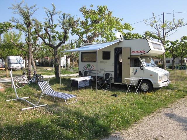 Mit dem Wohnmobil unter der Sonne Italiens