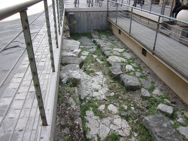 römische Ausgrabung in Rimini