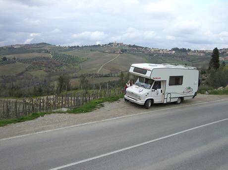 Ausblicke in der Toskana