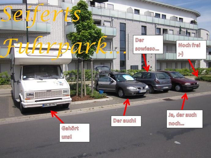 Unser Fuhrpark! Wohnmobil, Hyundai, Bravo und Astra