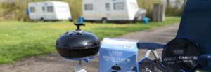 CADAC Grillo Chef 2 im Einsatz auf dem Campingplatz