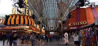Freemont Street Experience in Las Vegas