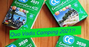 Ausblick auf die Reise- und Campingsaison 2021