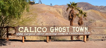 Einleitung zum Reisetag 17 - Besuch der Geisterstadt Calico